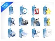 Iconos del Web y del Internet Fotos de archivo libres de regalías