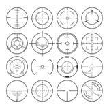 Iconos determinados del retículo ilustración del vector