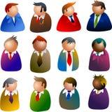 Iconos ejecutivos Fotografía de archivo