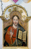 Iconos en el templo viejo Fotos de archivo