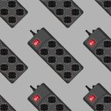 Iconos inconsútiles del filtro de la red del modelo Foto de archivo libre de regalías
