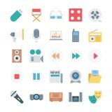 Iconos isométricos del vector de las finanzas Imagen de archivo libre de regalías
