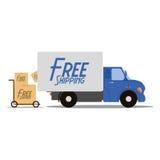 Iconos libres de la entrega aislados en el fondo blanco Imágenes de archivo libres de regalías