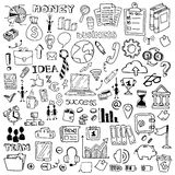 Iconos lineares para el web o el móvil Imagen de archivo libre de regalías