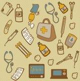 Iconos médicos Fotos de archivo