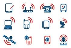 Iconos móviles Fotografía de archivo
