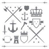 Iconos medievales Foto de archivo