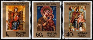 Iconos ortodoxos Imagenes de archivo