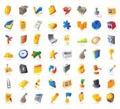 Iconos para el asunto Fotografía de archivo libre de regalías
