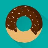 Iconos planos del estilo de Junk Food para su diseño Fotos de archivo