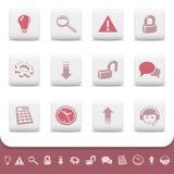 Iconos profesionales del Web, botones. Conjunto 2
