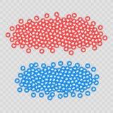 Iconos sociales de la red, gustos Fondo para el web, Internet, App, anuncio, promoción, márketing, SMM, CEO, negocio Fotos de archivo