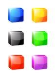 Iconos vacíos del Web ilustración del vector