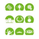 Iconoschampsgreen Στοκ φωτογραφίες με δικαίωμα ελεύθερης χρήσης