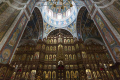 Iconostasis at  Cathedral of St. Alexander Nevsky Stock Photography