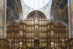 Iconostasis at  Cathedral of St. Alexander Nevsky Stock Photos