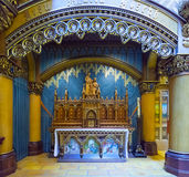 Iconostasis of  Catholic Church Royalty Free Stock Photos