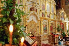 Iconostasis Royalty Free Stock Image
