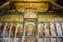 Iconostasis in the church Radruż, eastern Poland Stock Photography