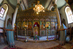 The iconostasis of the Church of St. Nicholas Royalty Free Stock Image