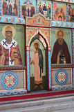 The iconostasis of the Orthodox Church Royalty Free Stock Image