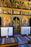 Iconostasis in slovak orthodox church Royalty Free Stock Image