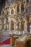 Iconostasis in Uspenski Cathedral - Helsinki - Finland Stock Photography