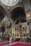 Iconostasis in Uspenski Cathedral - Helsinki - Finland Stock Images