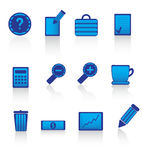 Icons. Website & Internet icons. Vector illustration Royalty Free Stock Photos
