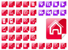 Icons. Icon Set for Web Applications - Vector Stock Image