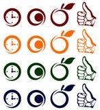 Icons. Stock Photo