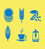 Icons. Group of icons.  illustration Stock Photos
