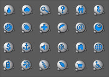 Icons 2 Stock Images