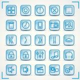 Icons 2 Stock Photo