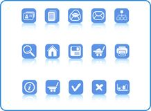 Icons. Miscellaneous raster web icons. Vector version is available in my portfolio Stock Images