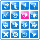 Icons. Miscellaneous signs raster iconset. Vector version is available in my portfolio Stock Images