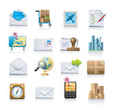 Icons. For mail, travel, transport, maps, etc Royalty Free Stock Photography