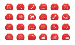 Icons. Outline Icons For Web and Mobile Royalty Free Stock Photo