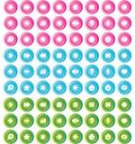 Icons_4 Lizenzfreie Stockbilder