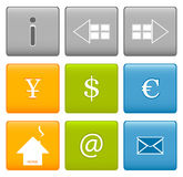 Icons Royalty Free Stock Image