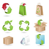 Icons of the arrow Stock Images