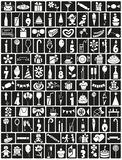 Icons birthday Stock Image