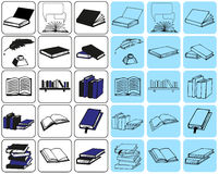 Icons book Royalty Free Stock Images
