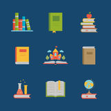 Icons book. Stock Photography