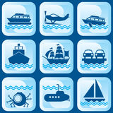 Icons bost Royalty Free Stock Images
