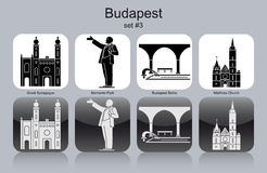 Icons of Budapest Stock Image