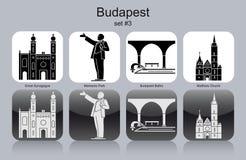 Icons of Budapest Stock Image