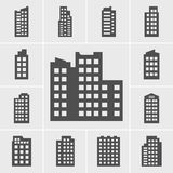 Icons Building Stock Photo