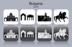 Icons of Bulgaria Stock Image