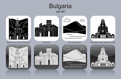 Icons of Bulgaria Stock Photos